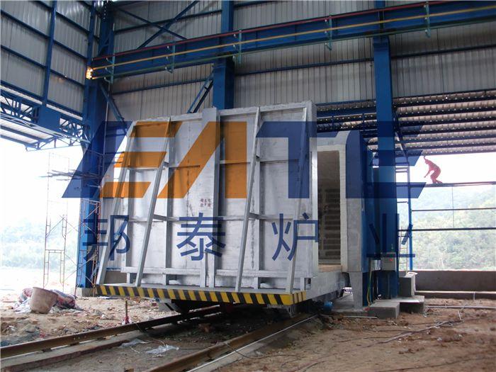 炉门固定台车式电阻炉